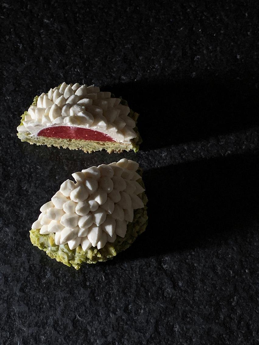 gateau pistache fraise